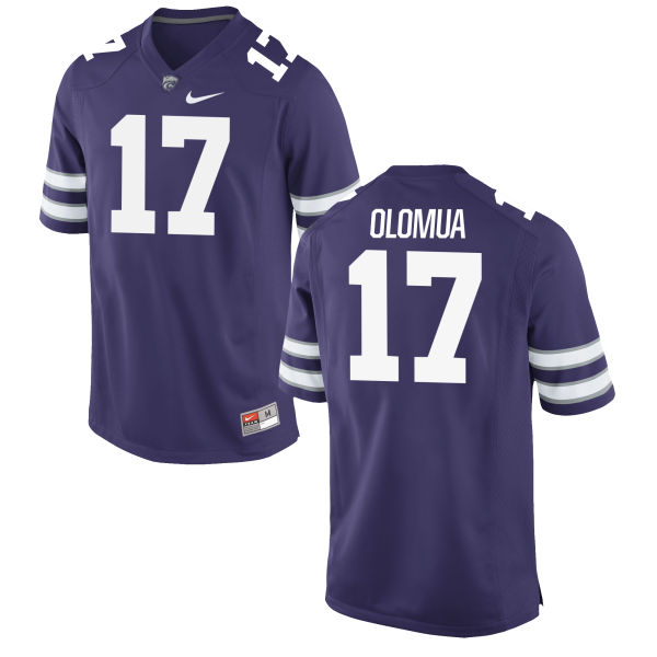 Youth Nike Aulelio Olomua Kansas State Wildcats Replica Purple Football Jersey