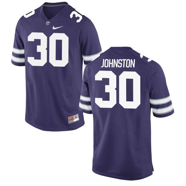 Women's Nike Chase Johnston Kansas State Wildcats Game Purple Football Jersey