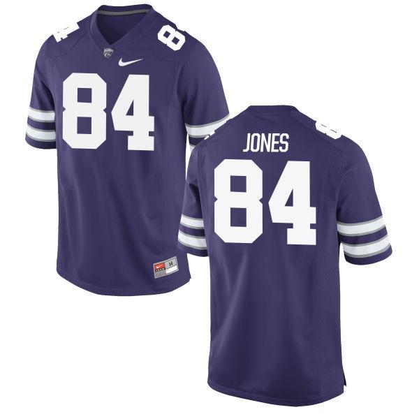 Women's Nike Matt Jones Kansas State Wildcats Game Purple Football Jersey