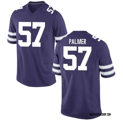Men's Nike Beau Palmer Kansas State Wildcats Replica Purple Football College Jersey