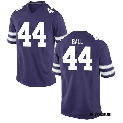 Men's Nike Kyle Alan Ball Kansas State Wildcats Game Purple Football College Jersey