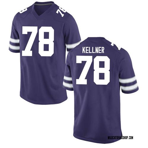Men's Nike Marshall Kellner Kansas State Wildcats Replica Purple Football College Jersey