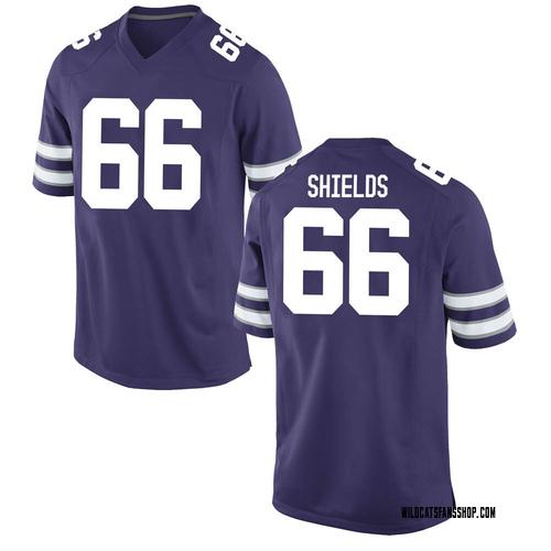 Men's Nike Sam Shields Kansas State Wildcats Replica Purple Football College Jersey