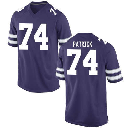 Men's Nike Tylar Patrick Kansas State Wildcats Game Purple Football College Jersey