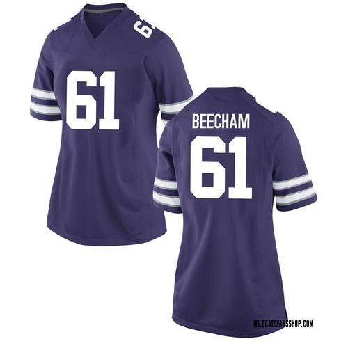 Women's Nike Abdul Beecham Kansas State Wildcats Replica Purple Football College Jersey