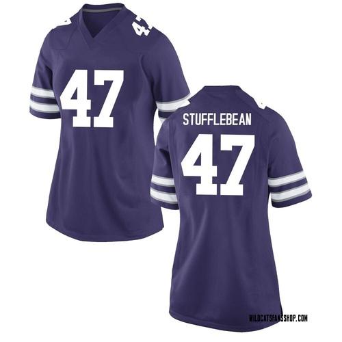 Women's Nike Cody Stufflebean Kansas State Wildcats Game Purple Football College Jersey