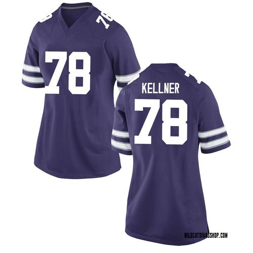 Women's Nike Marshall Kellner Kansas State Wildcats Game Purple Football College Jersey