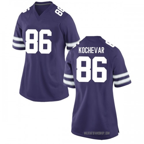 Women's Nike Trace Kochevar Kansas State Wildcats Replica Purple Football College Jersey