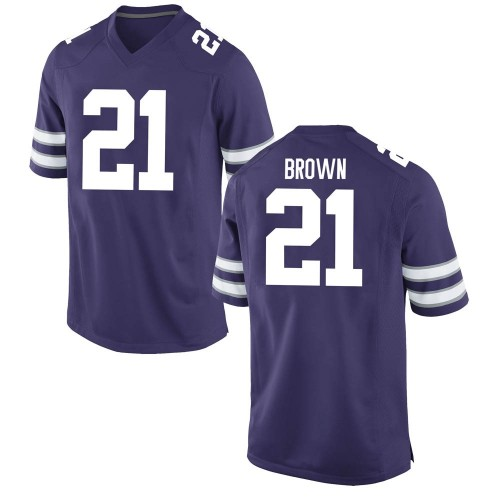 Youth Nike Aamaris Brown Kansas State Wildcats Replica Purple Football College Jersey