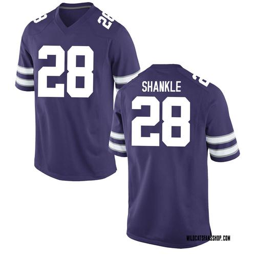 Youth Nike Kaelen Shankle Kansas State Wildcats Replica Purple Football College Jersey