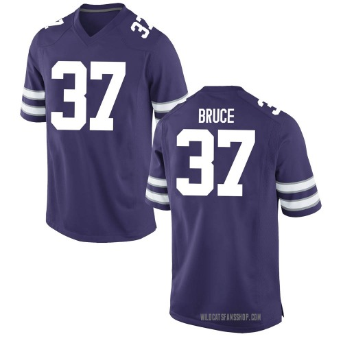 Youth Nike Parker Bruce Kansas State Wildcats Replica Purple Football College Jersey